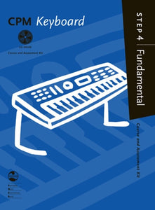 AMEB CPM Keyboard Fundamental Step 4 Bk-CD