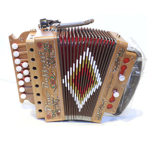 Dino Baffetti Art 21 Button Accordion