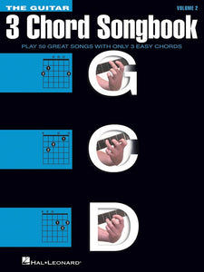 The Guitar 3-Chord Songbook - Volume 2 G-C-D