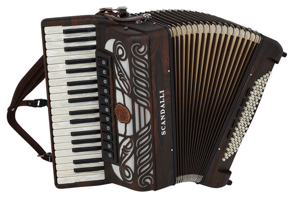 Scandalli Tierra 37 Note 96 Bass Piano Accordion