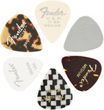 Fender Pick 351 Material Medley 6-Pack, 3 Thicknesses