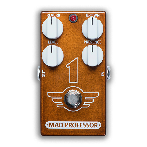 Mad Professor '1' Distortion Reverb Pedal