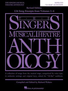 The Singer's Musical Theatre Anthology 16-Bar Auditions - Soprano