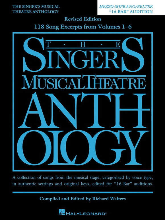 The Singer's Musical Theatre Anthology 16-Bar Auditions - Mezzo Soprano