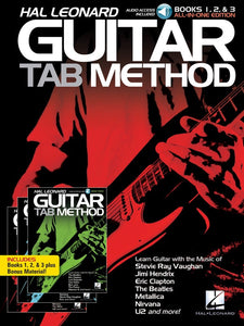 Hal Leonard Guitar Tab Method: Books 1, 2 & 3