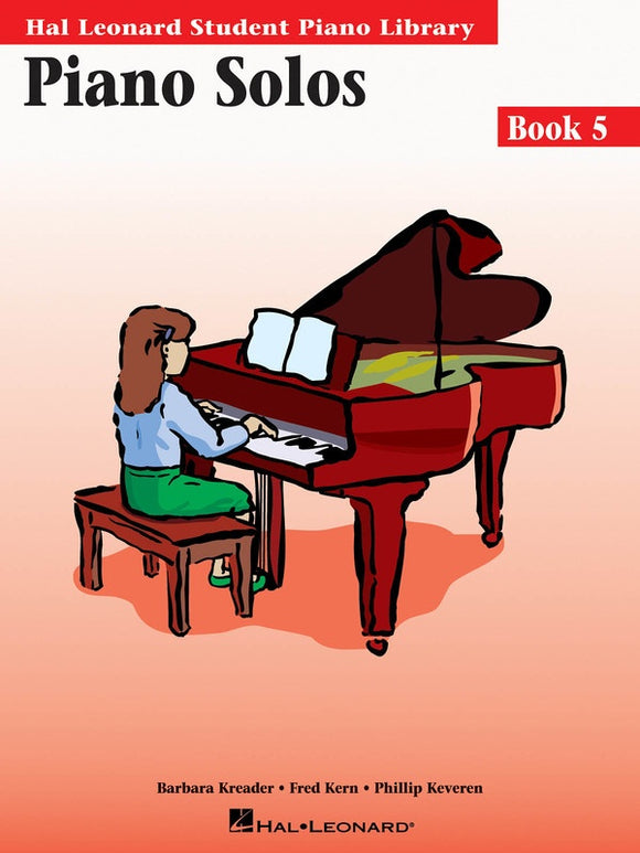 Piano Solos - Book 5 - without Audio Access