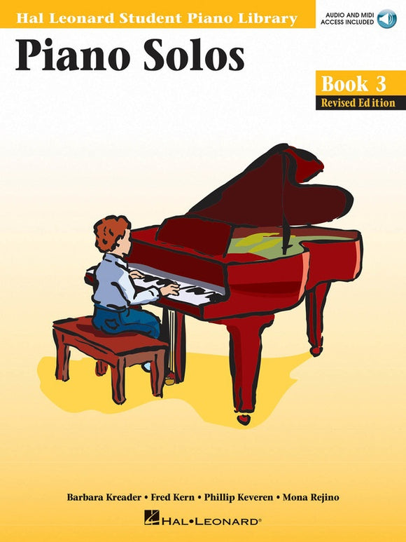 Piano Solos - Book 3 - with Audio Access