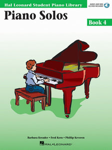 Piano Solos - Book 4 - with Audio Access