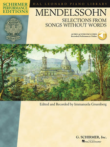 Mendelssohn: Selections from Songs Without Words