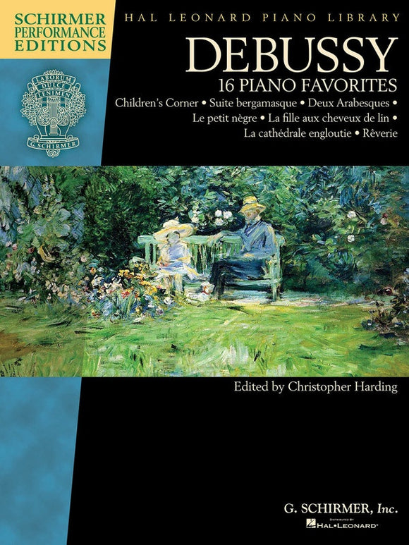 Debussy - 16 Piano Favorites