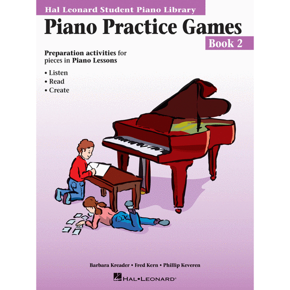 Piano Practice Games - Book 2