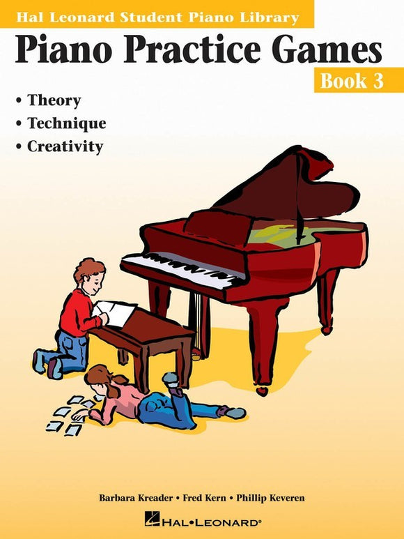 Piano Practice Games - Book 3