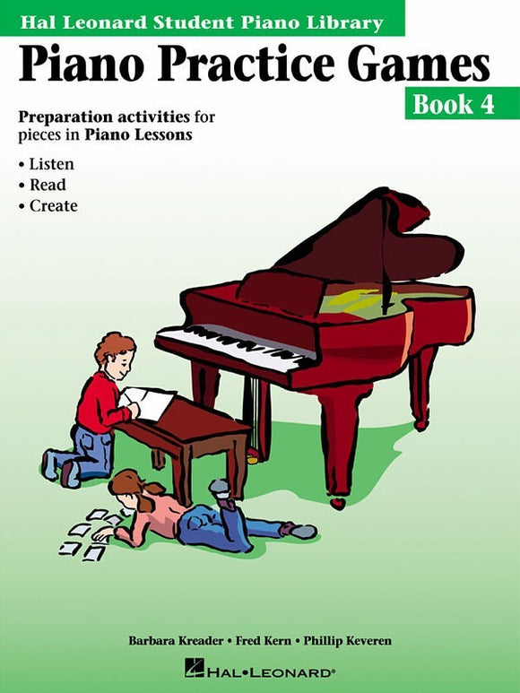 Piano Practice Games - Book 4