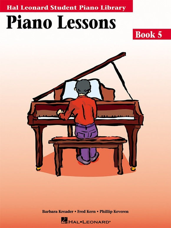 Piano Lessons - Book 5 - without Audio Access