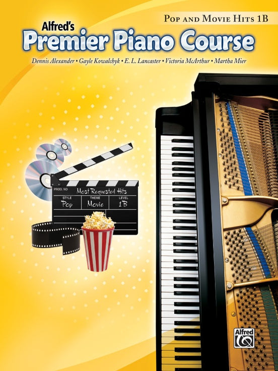 Alfred's Premier Piano Course, Pop and Movie Hits 1B
