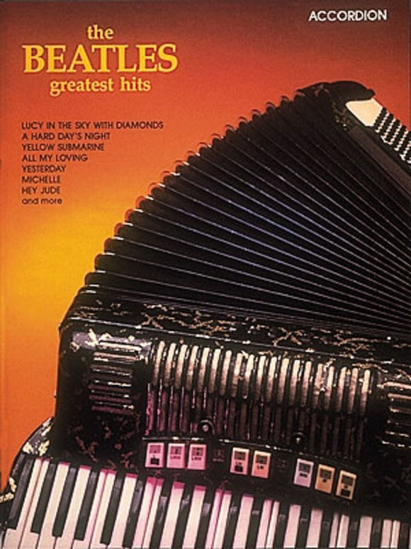 The Beatles Greatest Hits for Accordion