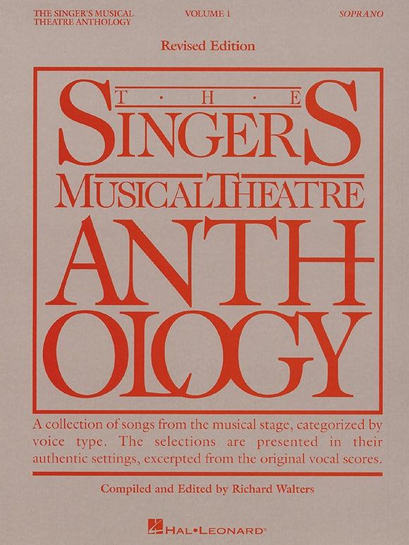 The Singer's Musical Theatre Anthology Vol.1 - Soprano