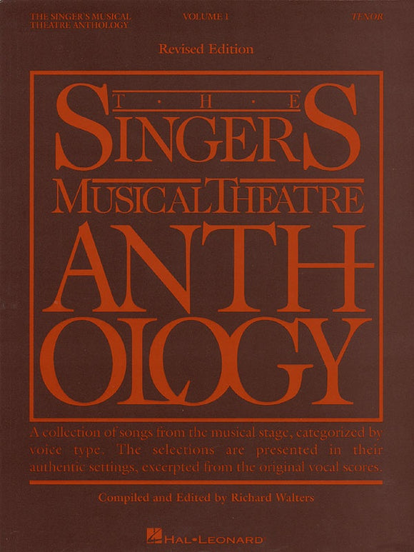 The Singer's Musical Theatre Anthology Vol.1 - Tenor
