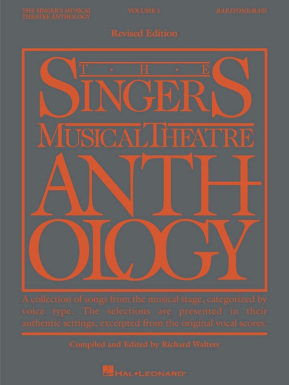The Singer's Musical Theatre Anthology Vol.1 - Baritone/Bass