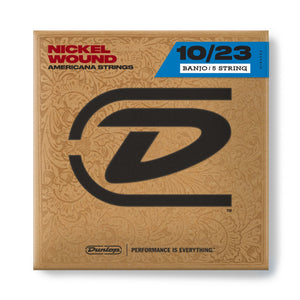 Dunlop Nickel Wound Banjo Strings (All Gauges)