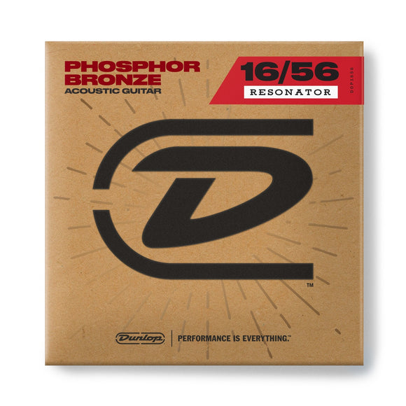 Dunlop Phosphor Bronze Resonator Strings