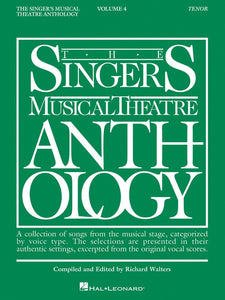 The Singer's Musical Theatre Anthology Vol.4 - Tenor