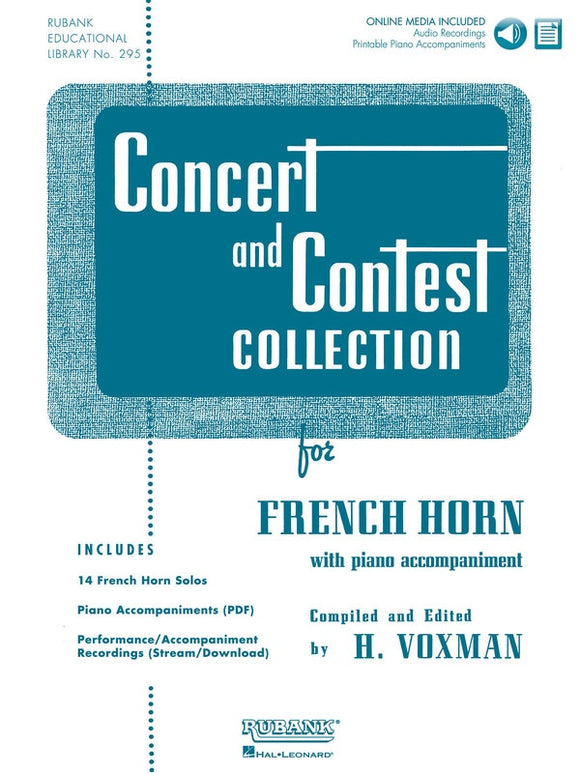 Concert and Contest Collection - French Horn