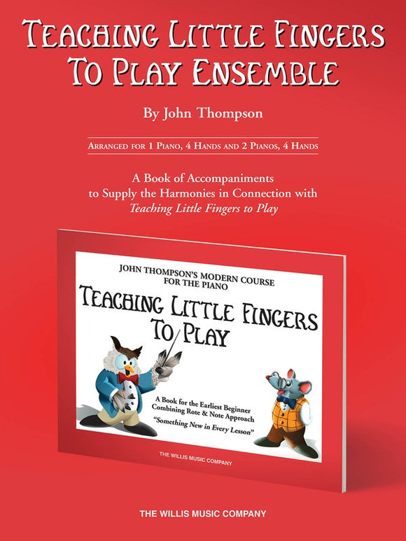 Teaching Little Fingers to Play Ensemble