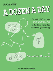 A Dozen a Day Book 1 - without Audio Access