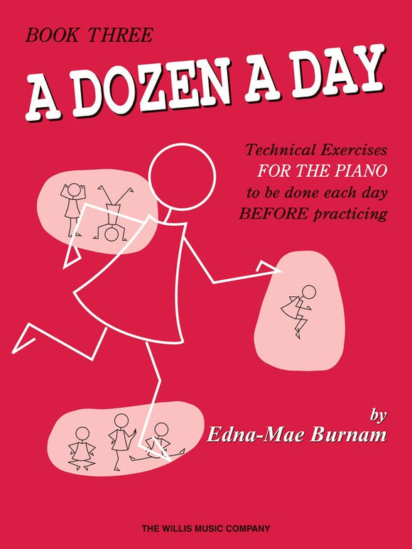 A Dozen a Day Book 3 - without Audio Access