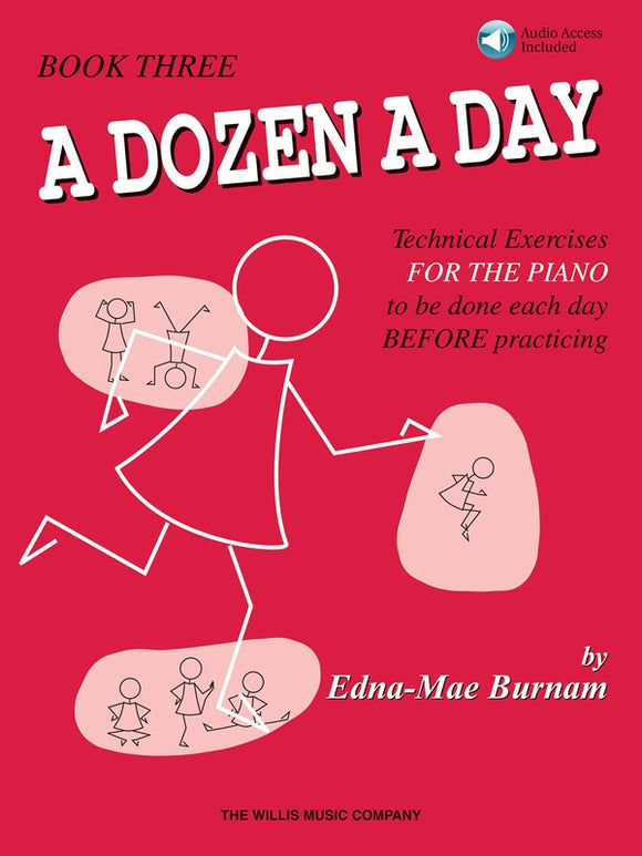 A Dozen a Day Book 3 - with Audio Access