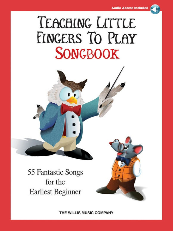 Teaching Little Fingers to Play Songbook Book/ Audio