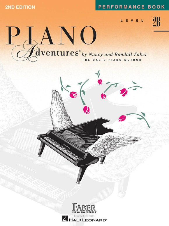 Piano Adventures Level 2B - Performance Book