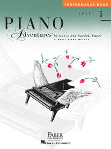 Piano Adventures Level 5 - Performance Book