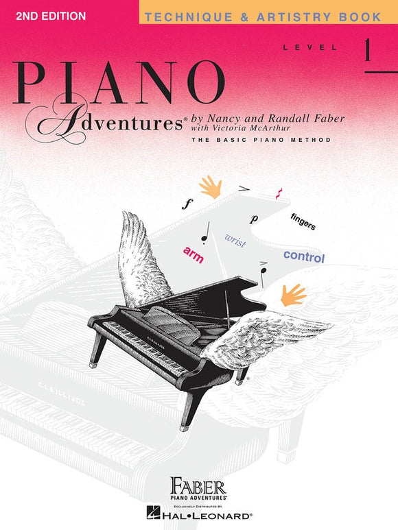 Piano Adventures Level 1 - Technique & Artistry Book