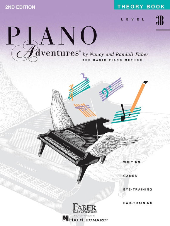 Piano Adventures Level 3B - Theory Book