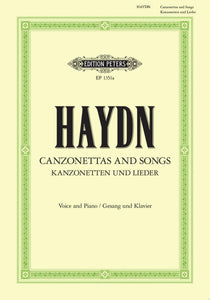 Haydn: 35 Canzonettas and Songs for High Voice