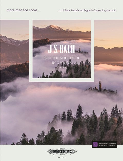 Bach: Prelude and Fugue in C major BWV846 for Piano