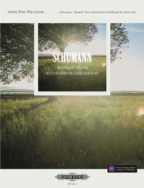 Schumann: Reverie from Scenes from Childhood for Solo Piano