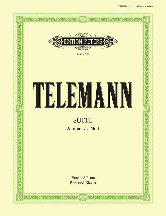 Telemann: Suite in A Minor for Flute