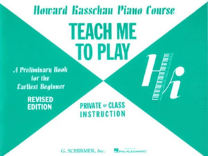 Teach Me to Play - Preliminary Beginner Book