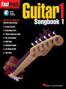 FastTrack Guitar Songbook 1 - Level 1