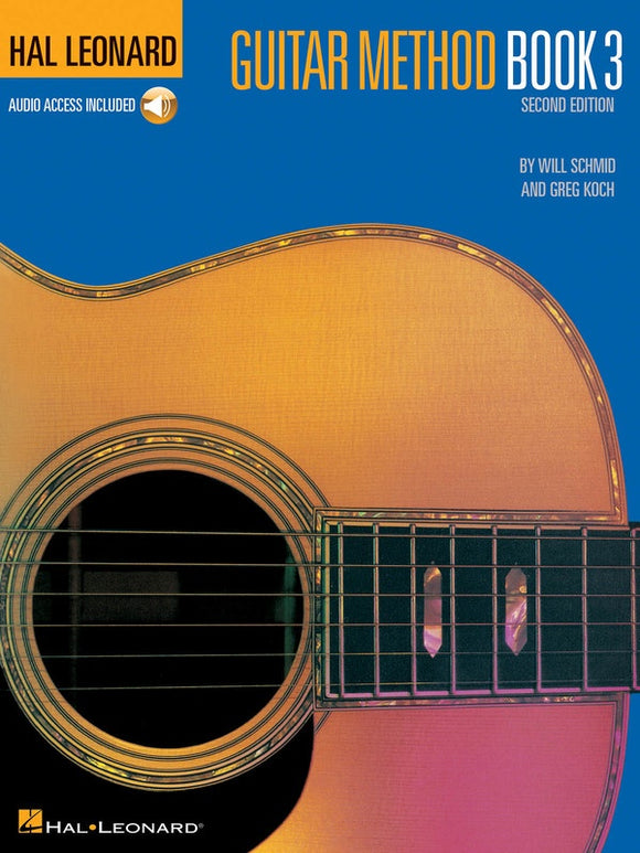 Hal Leonard Guitar Method Book 3 with Audio