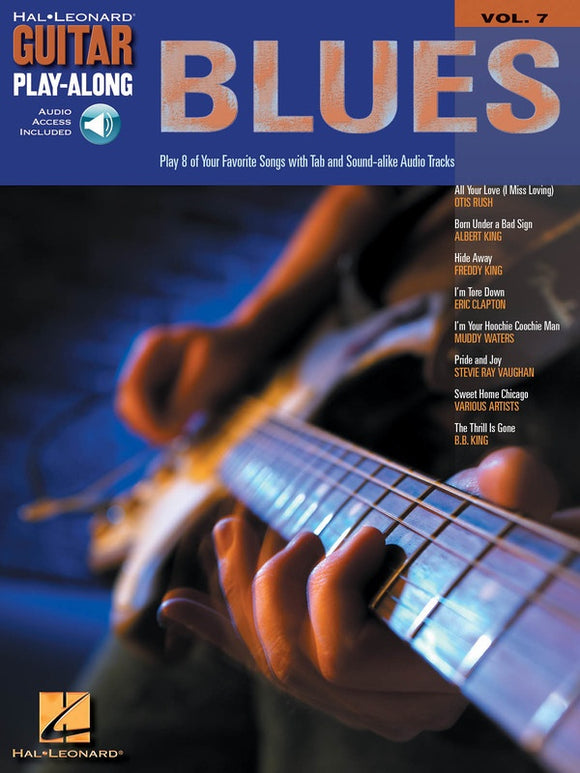 Blues - Guitar Play-Along Volume 7