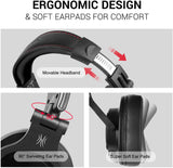 OneOdio A71D Gaming Headphones with Detachable Mic