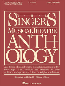 The Singer's Musical Theatre Anthology Vol.3 - Baritone/ Bass