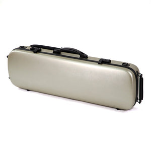 HQ Violin Case Full Size - Brushed Champagne