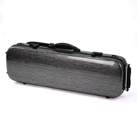 HQ Violin Case Full Size - Black-Silver