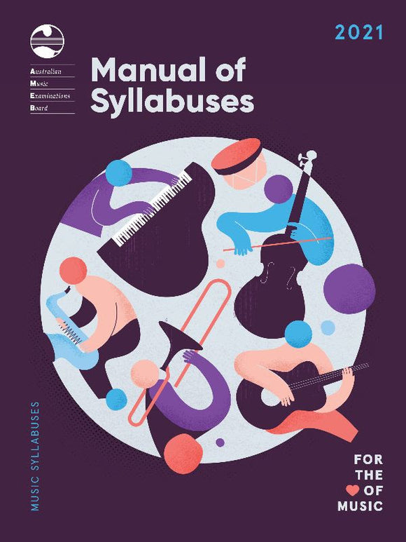 AMEB 2021 Manual of Syllabuses - Pre-Order