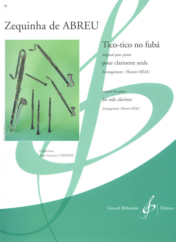 Abreu: Tico-tico no fuba for Solo Clarinet